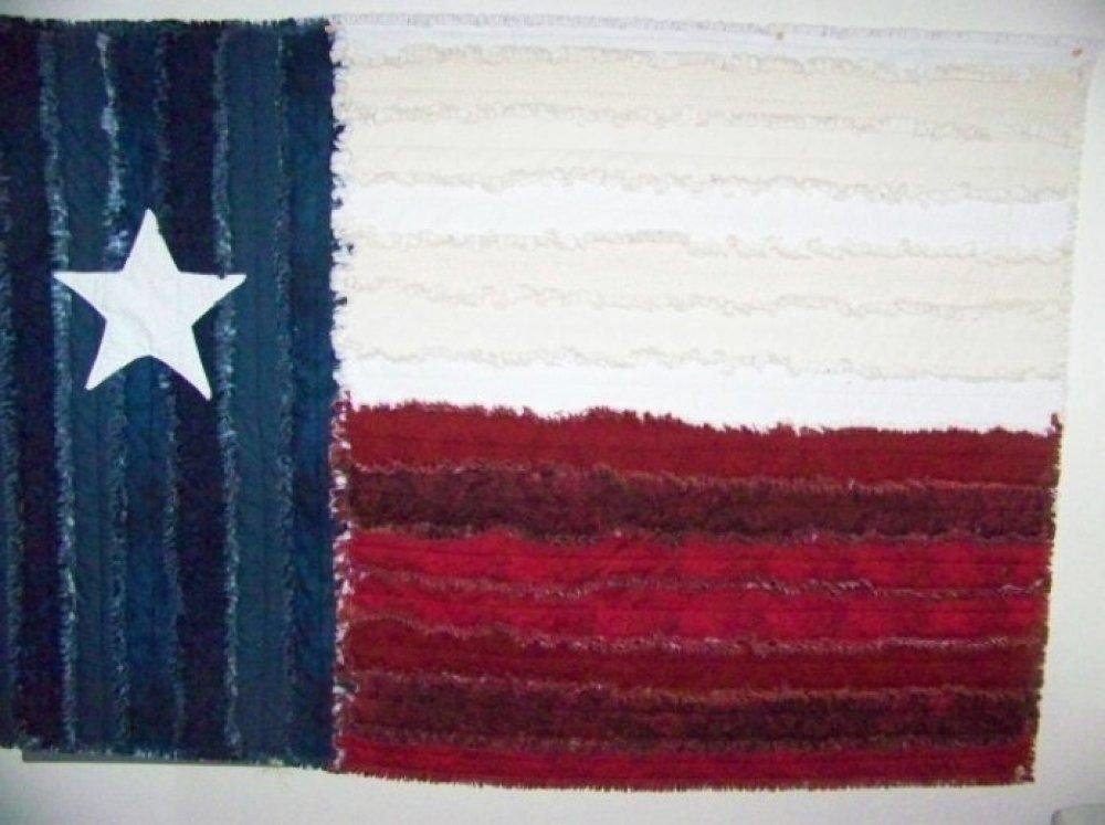 Tattered Texas Flag