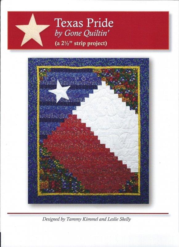 2009 Texas Pride Lap Quilt  Kit