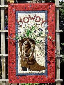 Western Welcome    HOWDY