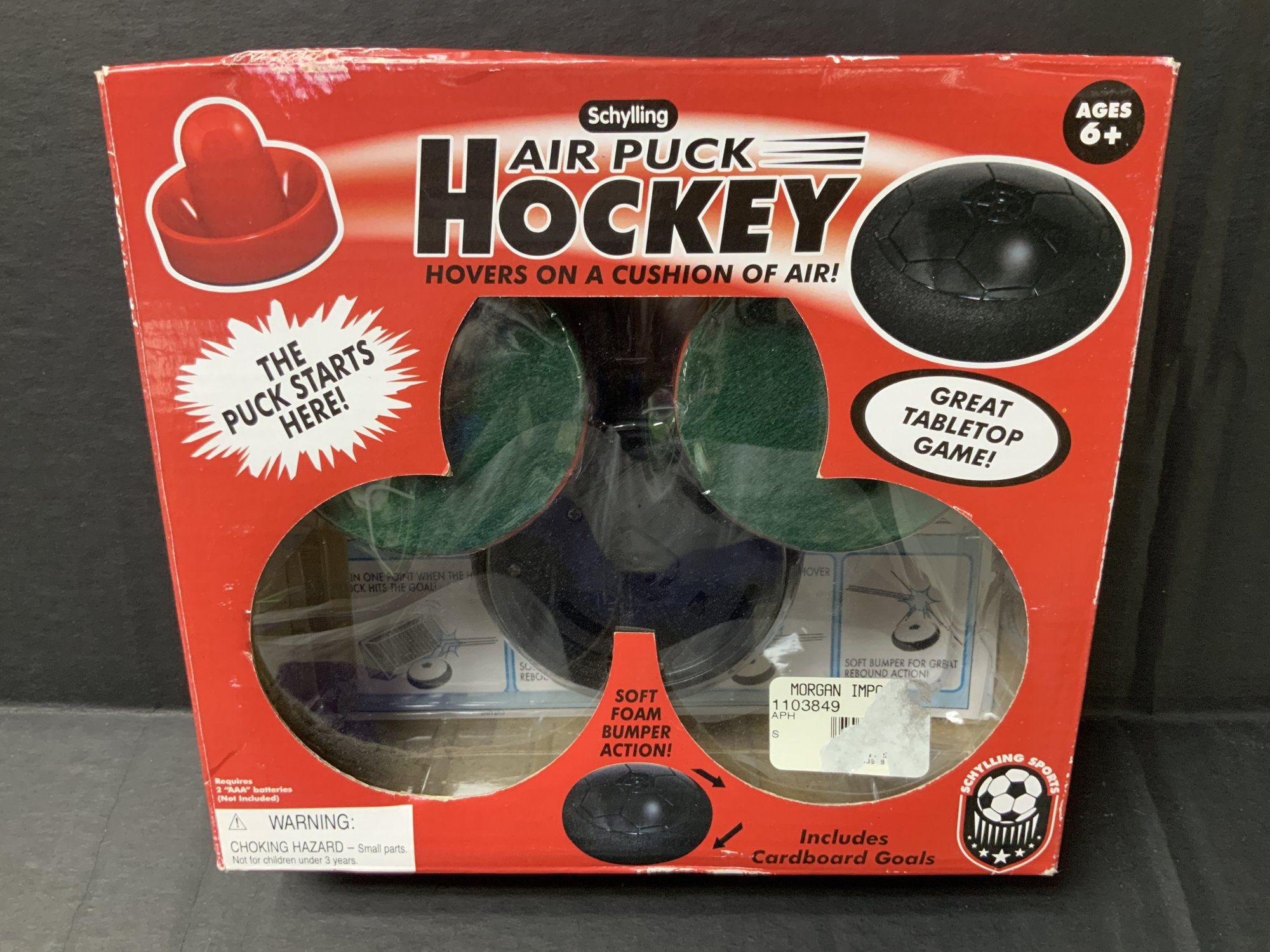 Schylling Hockey Air Puck Set Tabletop Game