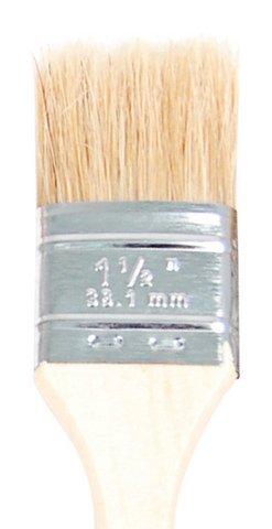White Bristle Chip Brush- 6 Sizes
