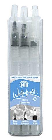 Niji Waterbrush 3pc Set