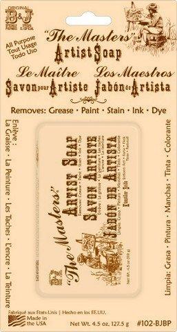 BJ Masters  Paint Soap Bar- 4.5oz.