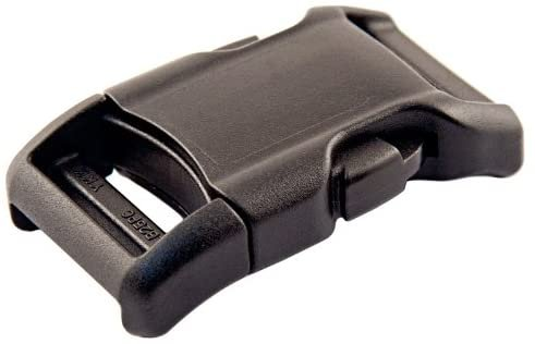 1 SIDE RELEASE PLASTIC BUCKLE BLACK