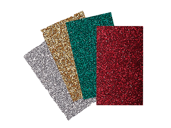 BROTHER IRON ON TRANSFER GLITTER SHEETS -HOLIDAY