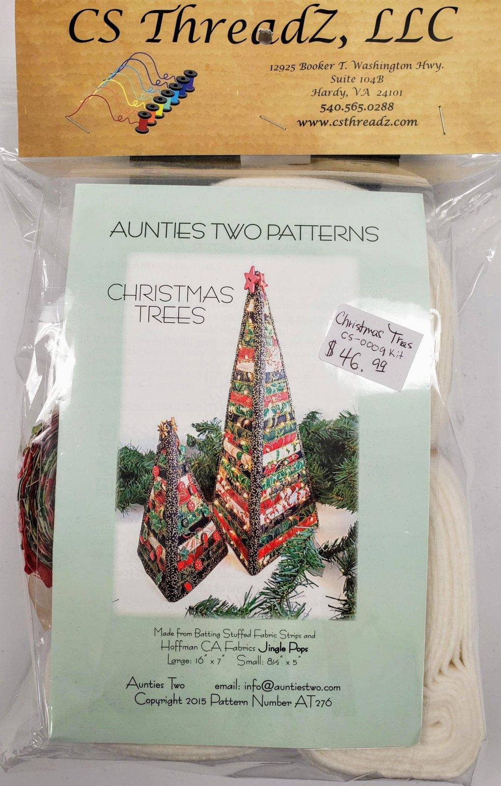CHRISTMAS TREES CS-0009 KIT