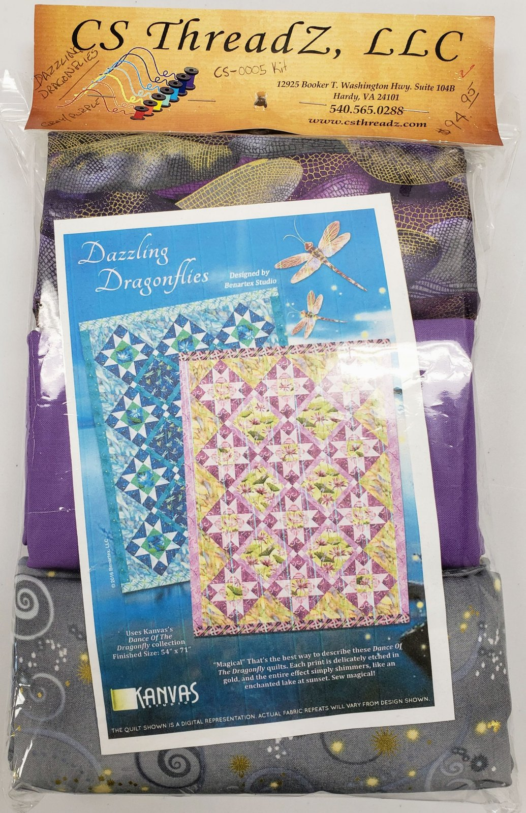 DRAGONFLIES CS 0005 KIT