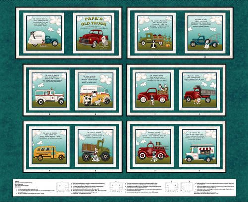 PAPA'S OLD TRUCK TEAL BOOK KIT CS-0041KIT