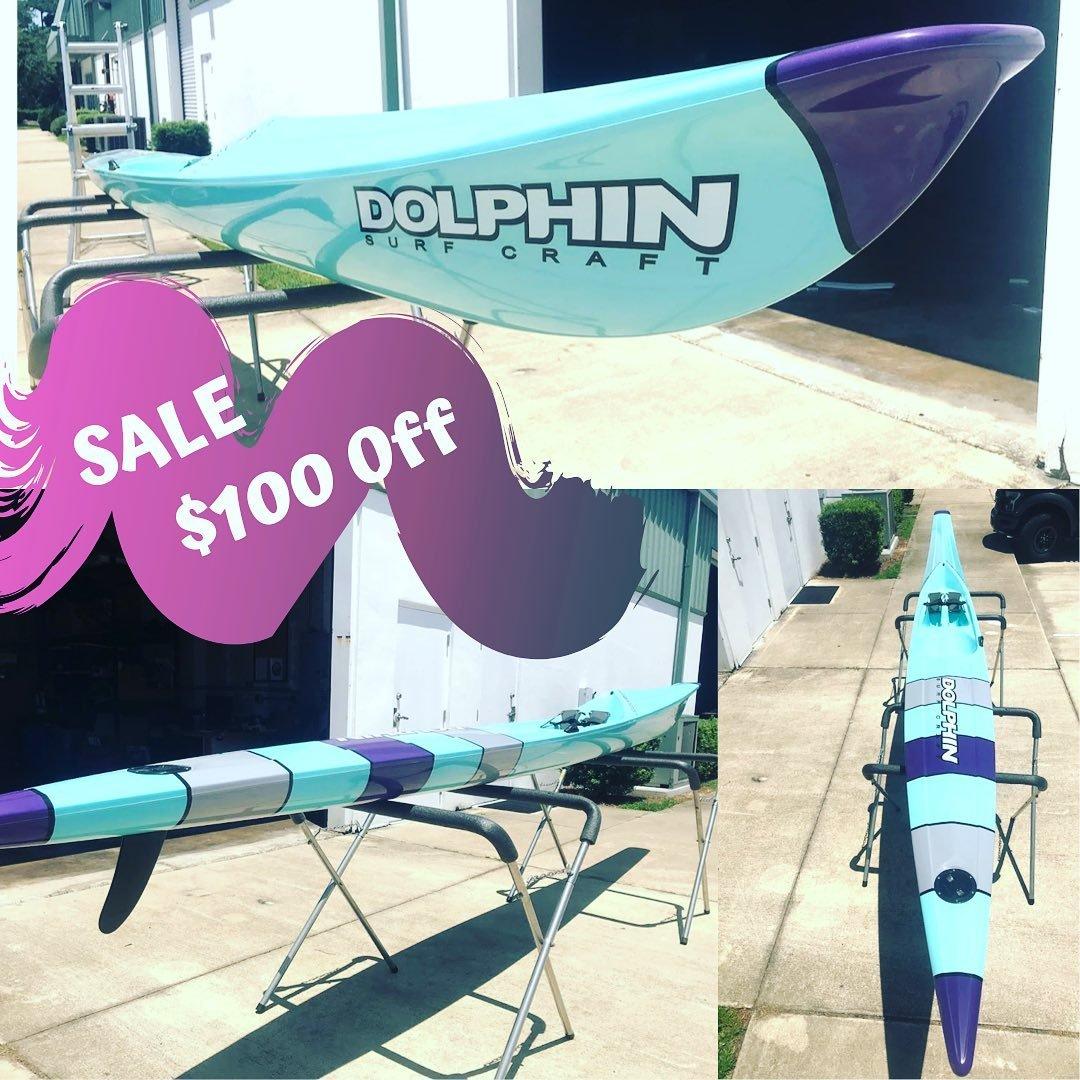 Dolphin Fixed Drive II Surf Ski 19' - Demo 1003