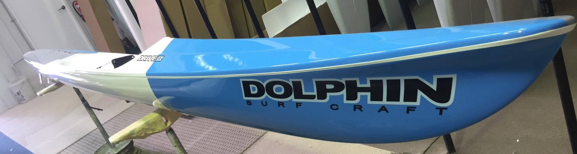 Dolphin Adjustable Drive II Surf Ski 19'  - 1008