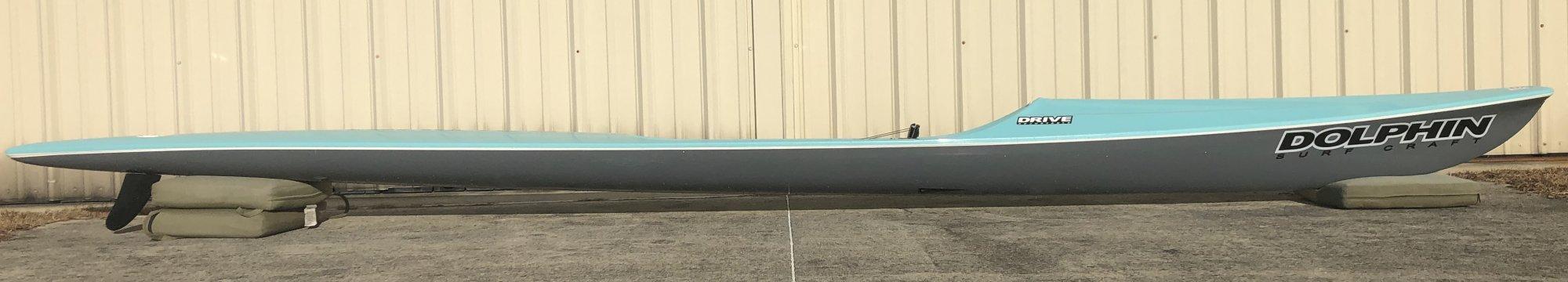 Dolphin Adjustable Drive II Surf Ski 19' - Demo 1036