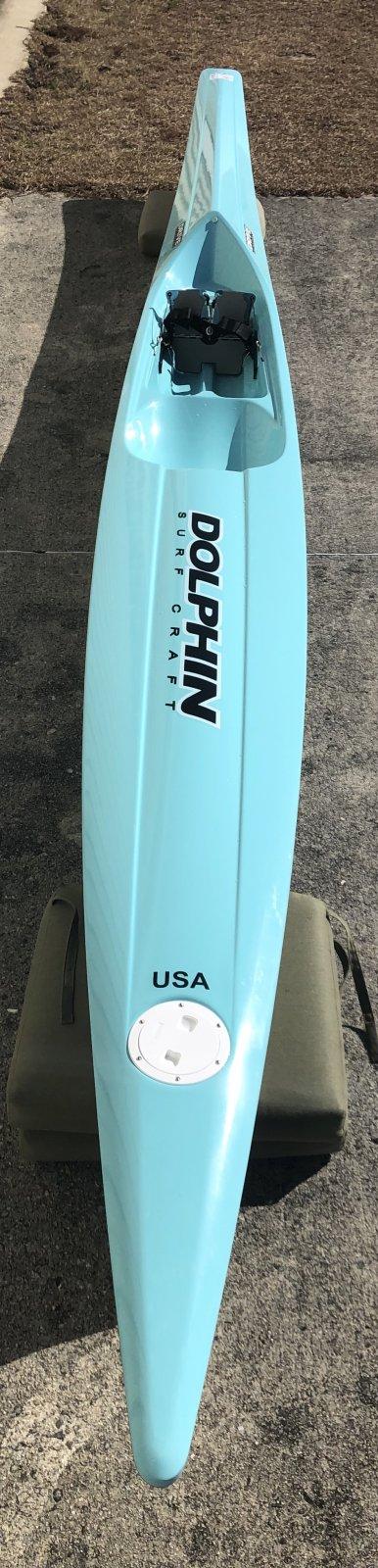 Dolphin Adjustable Drive II Surf Ski 19' - Demo 1039