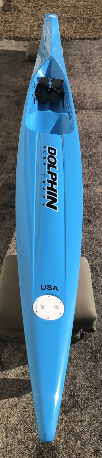 Dolphin Adjustable Drive II Surf Ski 19' - Demo 1040