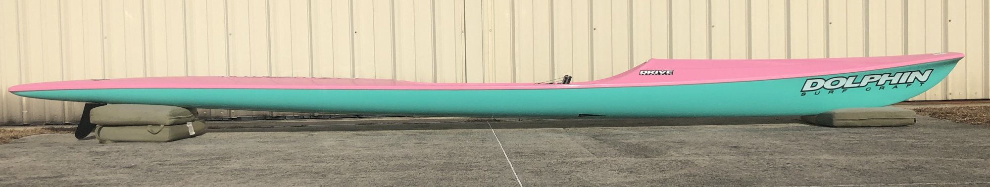 Dolphin Adjustable Drive II Surf Ski 19' - Demo 1033