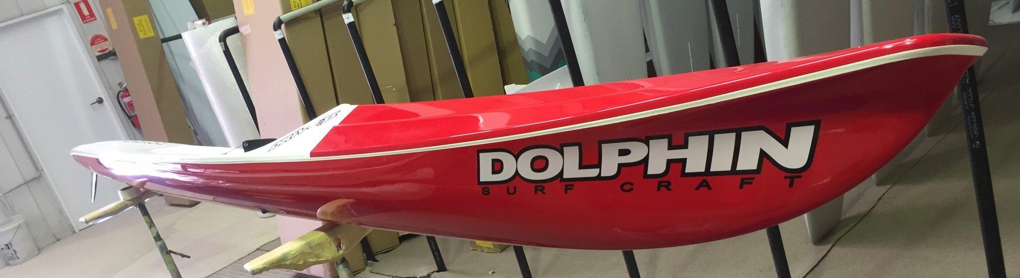 Dolphin Adjustable Drive II Surf Ski 19' - 974