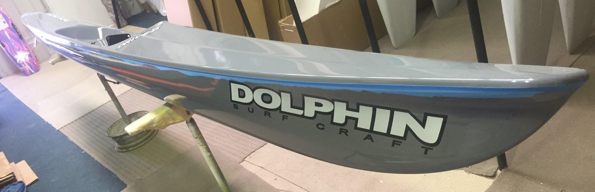 Dolphin Adjustable Drive II Surf Ski 19' - 985