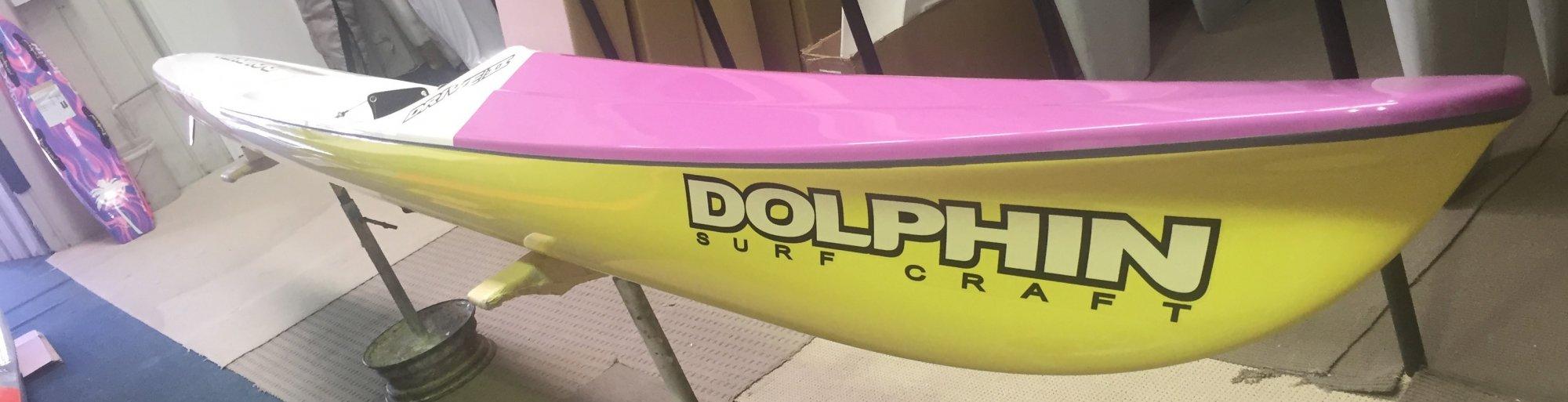 Dolphin Adjustable Drive II Surf Ski 19' -  990