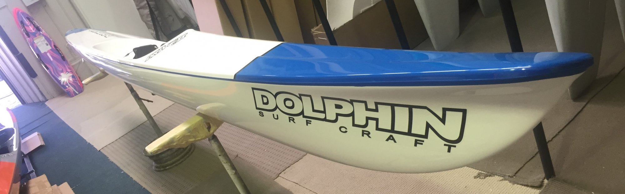 Dolphin Adjustable Drive II Surf Ski 19' -  996