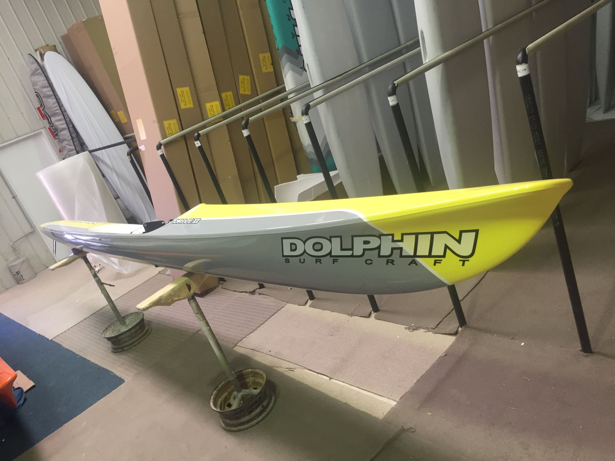 Dolphin Adjustable Drive II Surf Ski 19' - Demo 8227