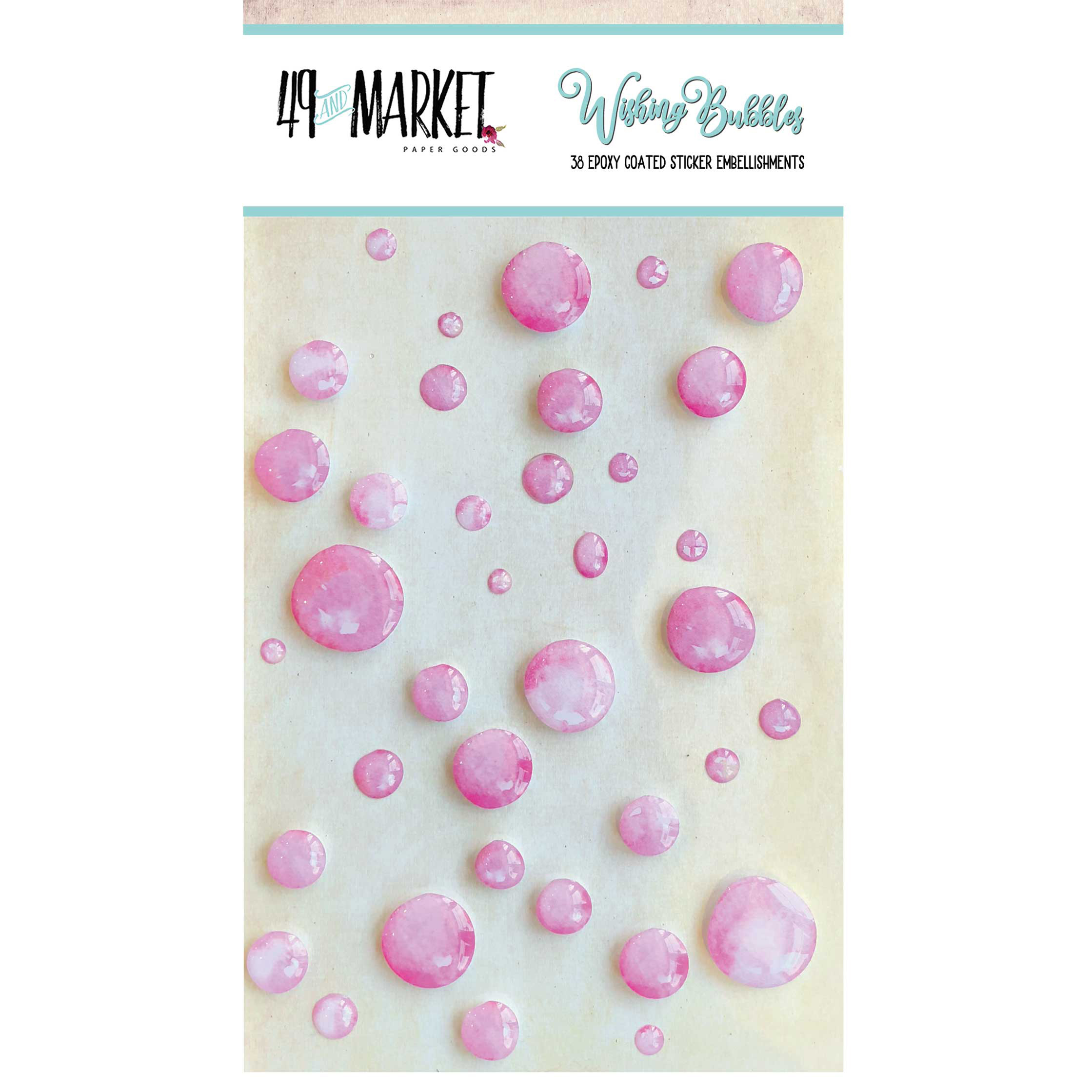 49 & Market Bubblegum Wishing Bubbles
