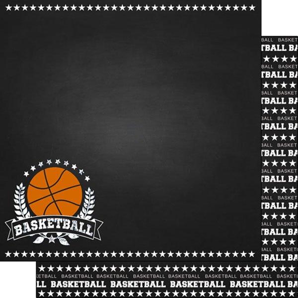 Basketball Chalkboard Sports