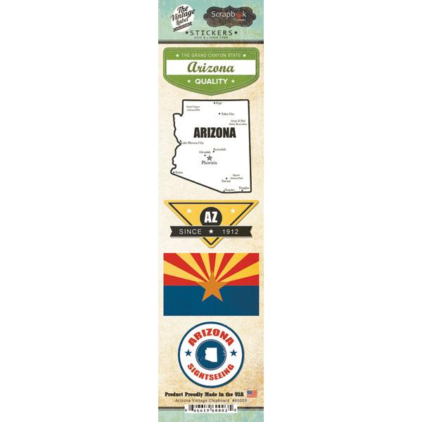 Arizona Vintage Label