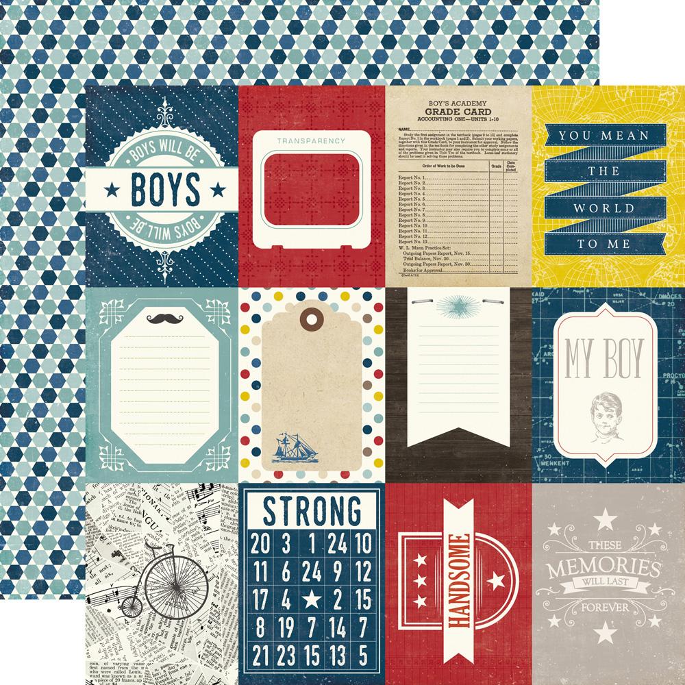3x4 Journaling Cards Boys