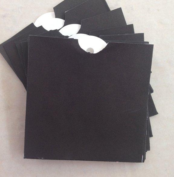 Black Mini Envelope & Tags