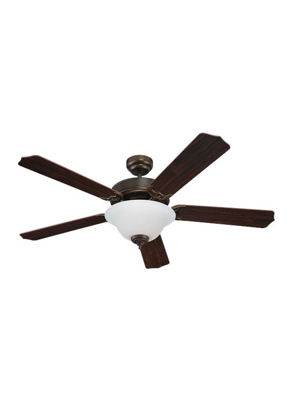 52 QUALITY MAX PLUS CEILING FAN RUSSET BRONZE FINISH