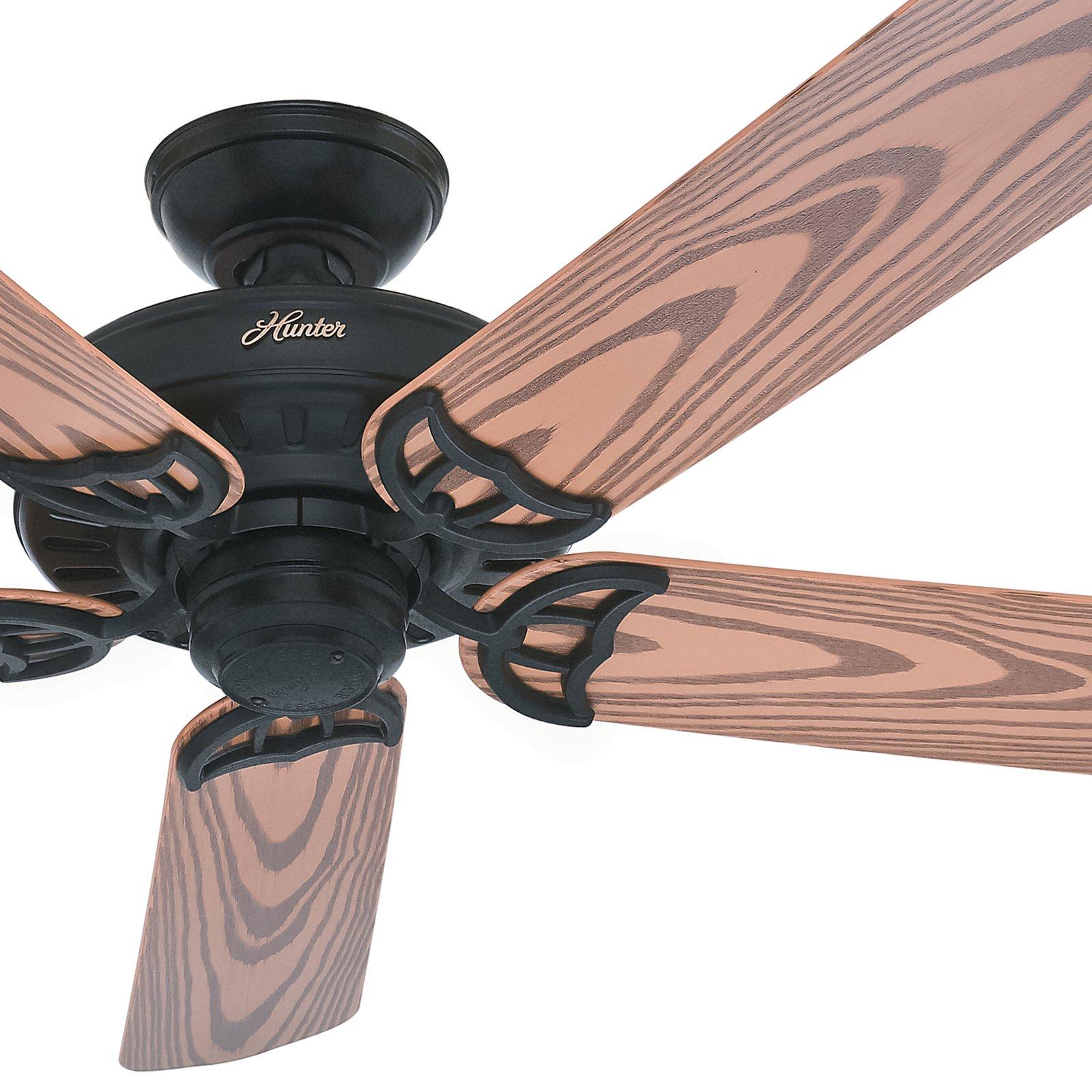 Hunter Fan 52 Outdoor Black Finish Ceiling Fan