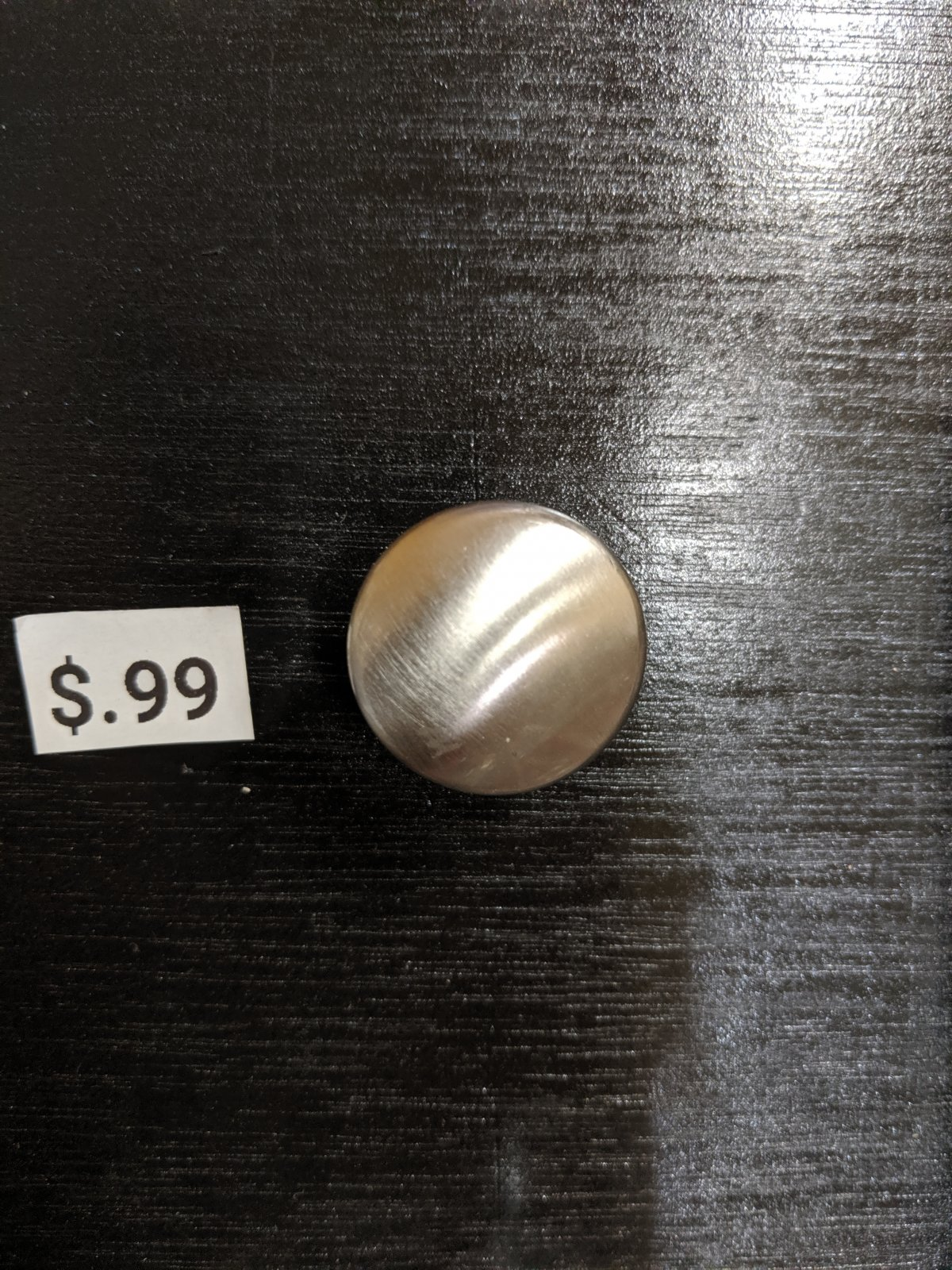 SATIN NICKLE ROUND PULL