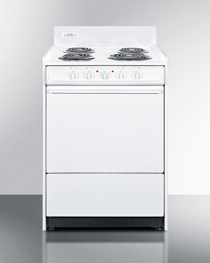 24 Wide Electric Coil Top Range