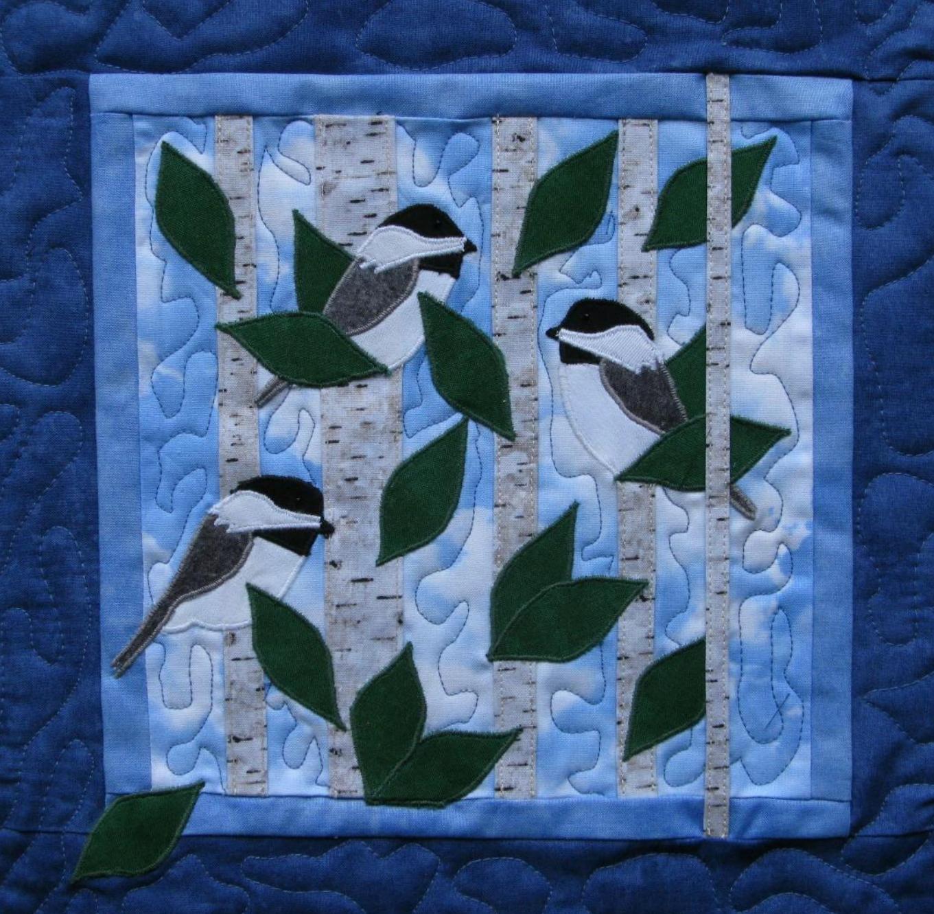 12.5 Chickadee Pattern