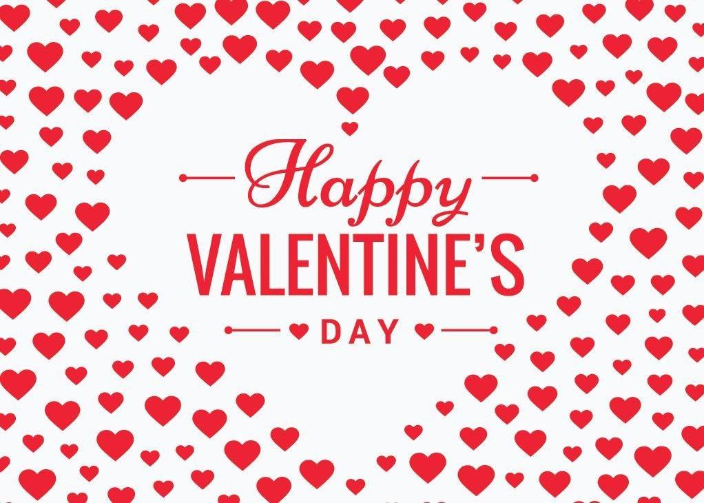 Hearts Galore Greeting Card