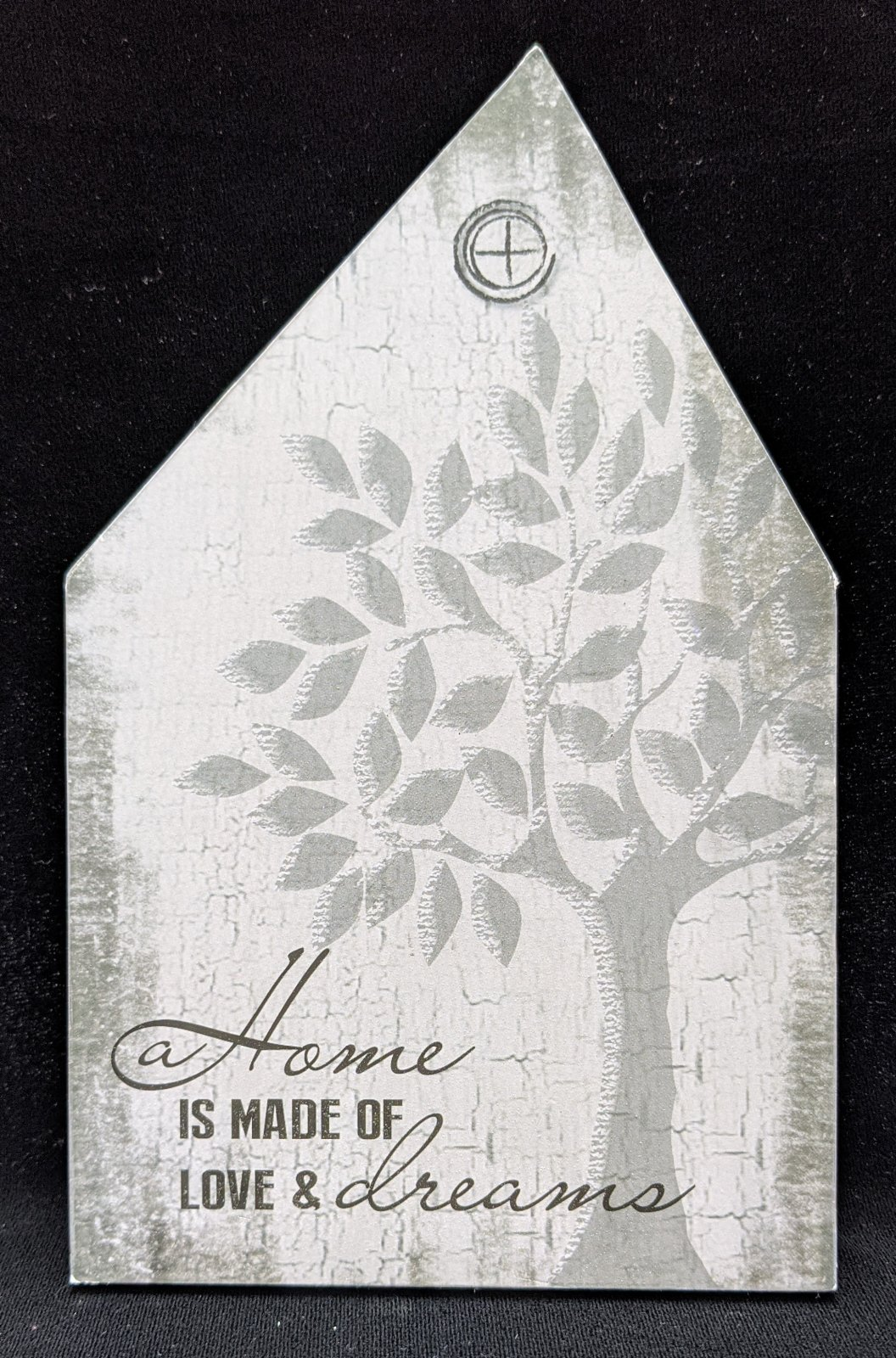 Home is Made of Love & Dreams wooden sign