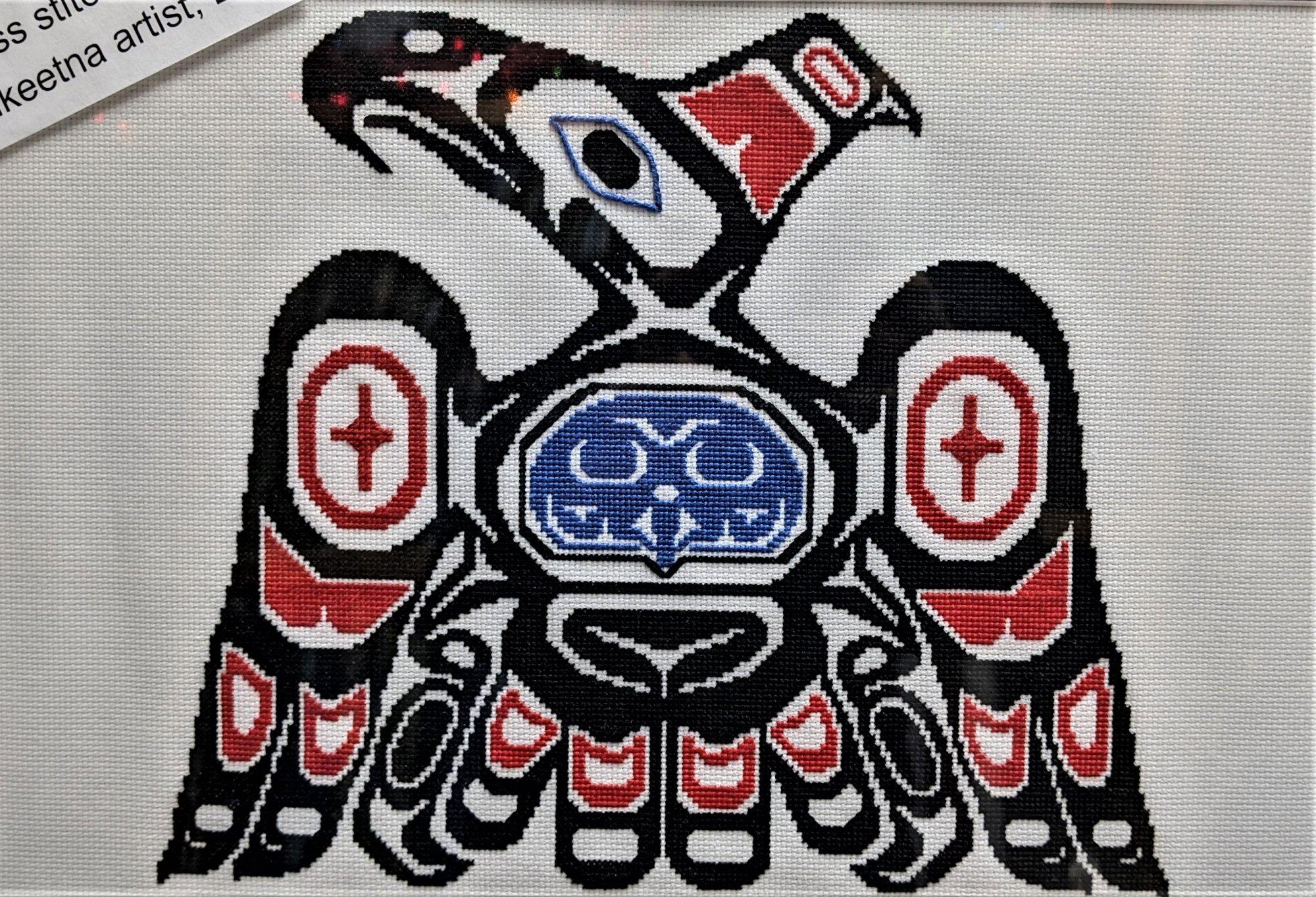 North Coast Thunderbird Cross-Stitch