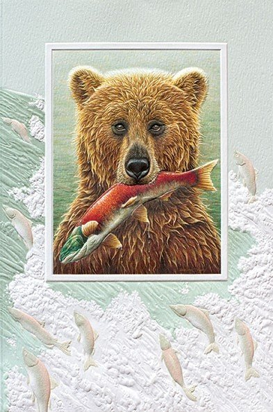 The Fisherman Birthday Greeting Card