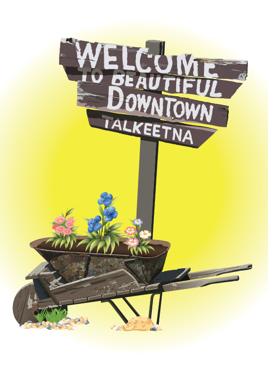 Welcome to Talkeetna Greeting Card