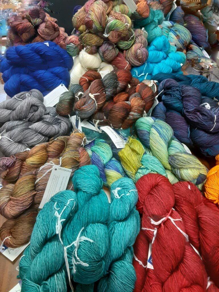 Malabrigo Yarn is so soft