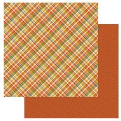 Gnome For Thanksgiving Double-Sided Cardstock 12X12-Fall Blessings