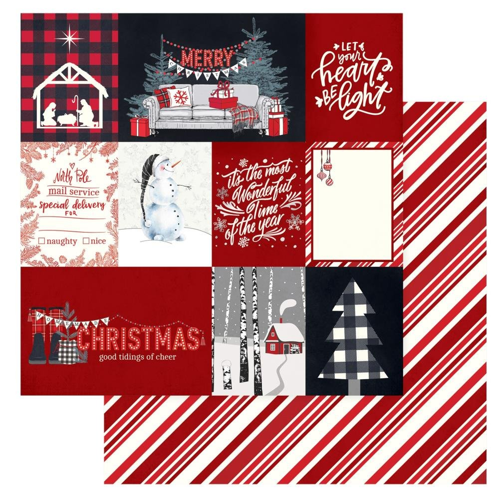 Christmas Cheer Double-Sided Cardstock 12X12