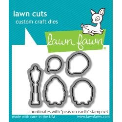 Lawn Cuts Custom Craft Die Peas On Earth
