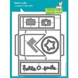 Lawn Cuts Custom Craft Die Shutter Card