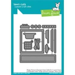 Lawn Cuts Custom Craft Die Magic Picture Changer Oven Add-On