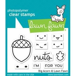 Lawn Fawn Clear Stamps 3X2 Big Acorn