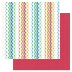 Norbert's Birthday Double-Sided Cardstock 12X12-Streamers