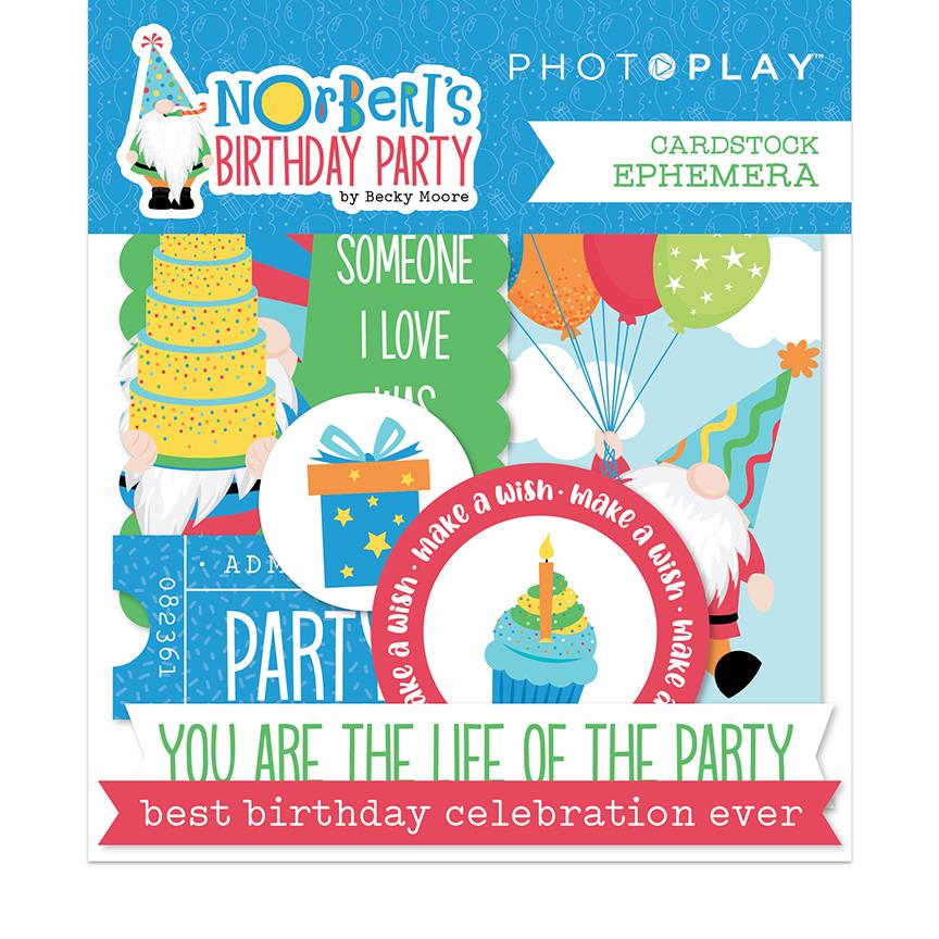 Norbert's Birthday - Ephemera