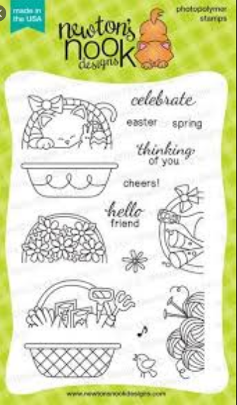 Baskets of Wishes Stamp Set