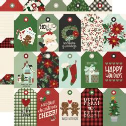 Jingle All The Way Double-Sided Cardstock 12X12