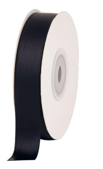 Satin Ribbon Black Licorice